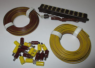 Connector (2,6mm), Twin strands and Distributor unit with plug NEW