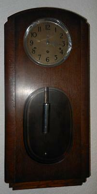 oak cased westminster wall clock c1930s