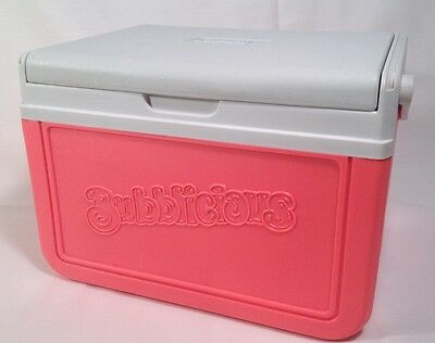 Bubblicious Coleman Cooler Pink Model 5205 Promotional Item Rare