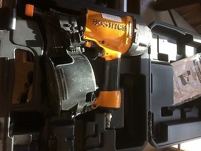 Bostitch N66C Coil-fed Pneumatic Nailer with case