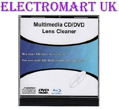 Laser Lens Cleaner Dvd Blu-Ray Cd Games Consoles