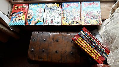 Nice DC Thomson sparky annual collection