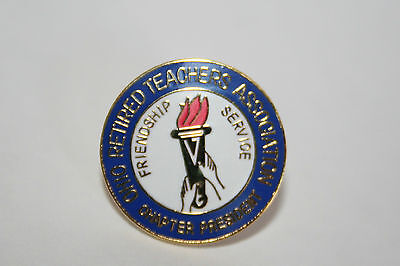 Ohio Retired Teachers Association Chapter President Pin
