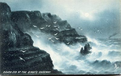 Postcard Giant's Causeway Raphael Tuck & Sons New Unused Excellent condition