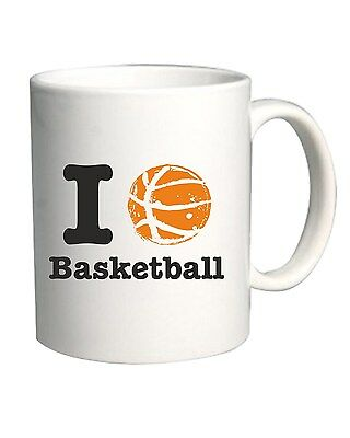 Tazza 11oz T0234 i love basketball