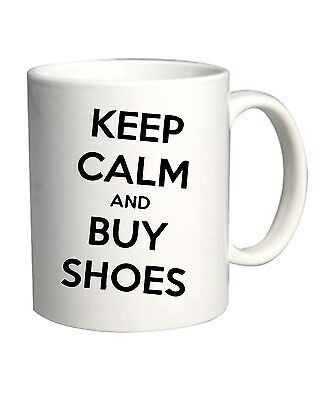 Tazza 11oz TDM00144 keep calm and buy shoes