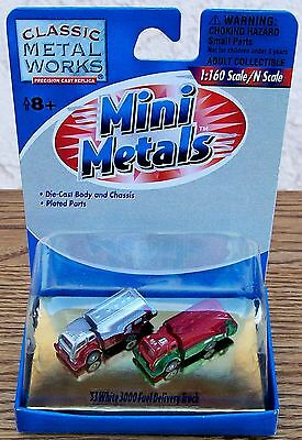N Classic Metal Works Mini Metals~1953 3000 FUEL DELIVERY TRUCKS-NEW IN PACK!
