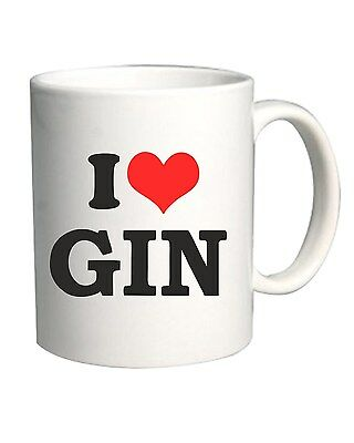 Tazza 11oz TR0064 I Love Gin 25mm 1 Pin Badge Button Hen Night Stag Do Drinking
