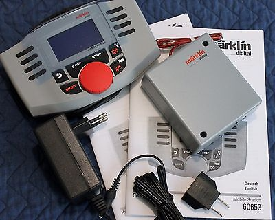 New Gray Marklin Mobile Station Digital Train Controller Set, Latest Version