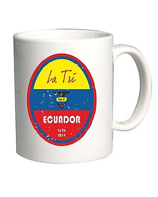 Tazza 11oz WC0660 World Cup Football - Ecuador