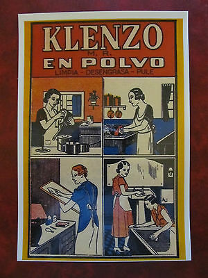 Chile - New Postcard - Old Advertising Of Detergents (3)