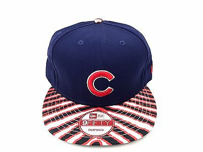 NEW ERA CHICAGO Cubs 9Fifty 950 MLB Zubaz Authentic Snapback Fit Cap ... 2f8896ee3bd