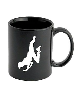 Tazza 11oz FUN1148 dance silhouette decal male 2  95816