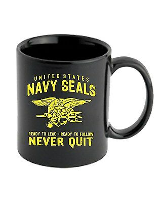 Tazza 11oz TM0432 navy seals never quit