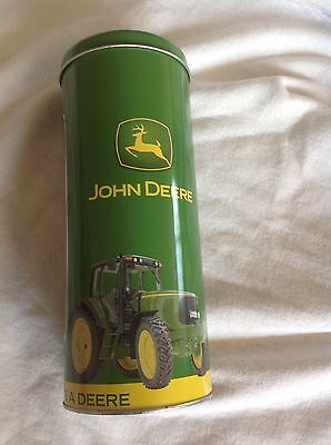 John Deere Tin Straw Holder Collectibles