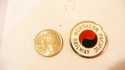Northern Pacific Railroad Lapel Pin Free Shipping Within USA Rare