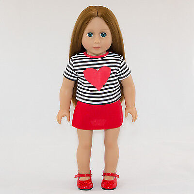 """18"""" Modern Doll Brunette - American Girl quality for Our Generation Girl price!"""