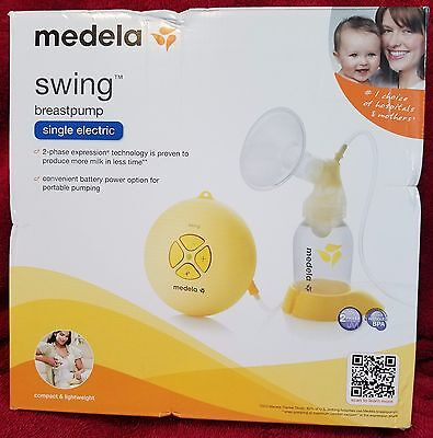 Medela Swing Breast Pump,  Electric, Two-phase Expression Technology - NEW