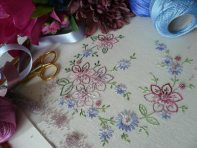 Embroidery Kit: 'Rosie' : Beautiful Embroidery Kits By Maggie Gee