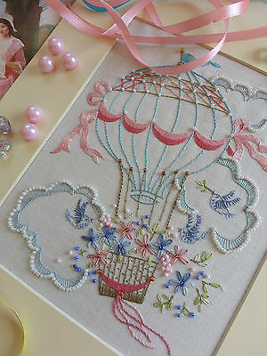 Embroidery Kit:Flight of Fancy:Beautiful Kits By Maggie Gee