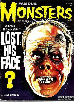 Warren Magazine Famous Monsters Of Filmland #16 Fine Condition