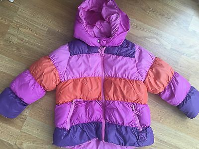 Girls Reversible Waterproof Bubble Jacket 3-4 Years