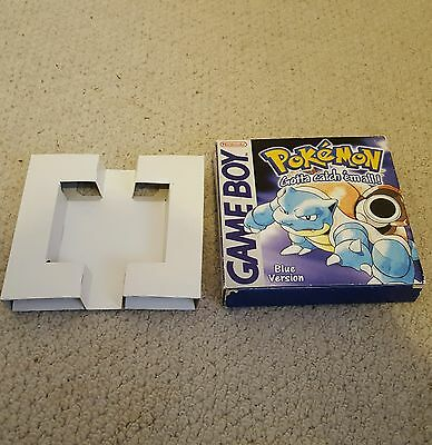 Nintendo Gameboy Pokemon Blue Box Only No Game Or Instructions