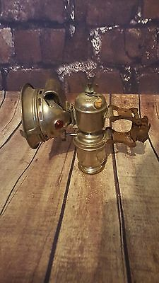 Antique Vintage Astral Carbide Bicycle Lamp Light 1920's 1930's Lucas