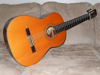 Hand Made In 1972 By Eichi Kodaira Wonderful Ecole E500 Classical Concert Guitar