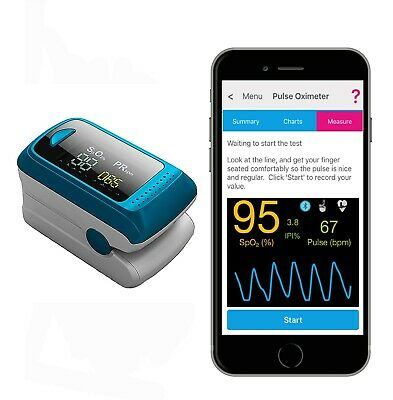 Activ8rlives Oximeter2 Wireless Connected Instant Real-Time Digital Pulse Rate