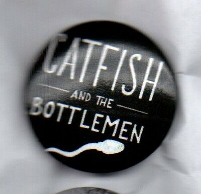 CATFISH AND THE BOTTLEMEN  UK ROCK BAND BUTTON BADGE - THE BALCONY 25mm