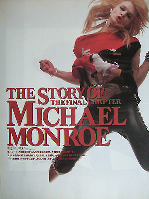 Hanoi Rocks / Michael Monroe - Clippings From Japanese Magazines