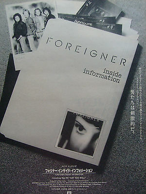 Foreigner / Lou Gramm - Clippings From Japanese Magazines