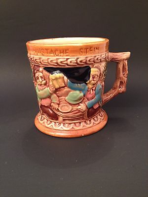 Moustache Beer Stein Movember Giftware Made in Japan