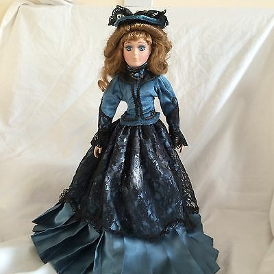 Porcelain Doll In Victorian Clothes Beautiful