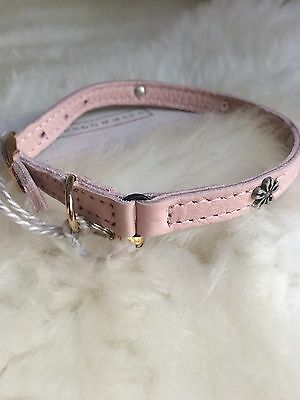 Mungo&Maud Cat Collar Pink/ Leather/ Charms/ Sold Out/ Beautiful!! RRP£38