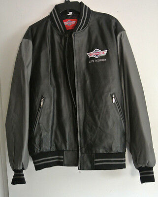National Street Machine Club Leather Jacket / Life Member