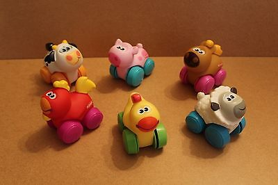 Playskool Wheel Pals Set Of 6 Farm Animals