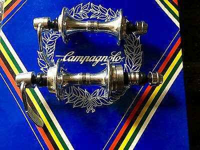 NOS Campagnolo C Record Era 28 Hole Hubs Superb