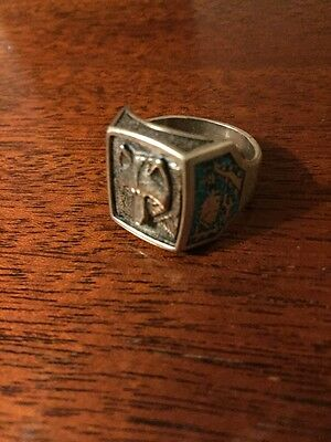 Native American Wolf Ring