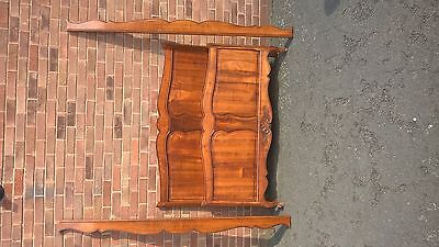 French Cherrywood bed 1940