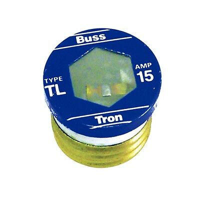 (3 Pack) Cooper Bussmann 15 Amp Fuse #BP/TL-15 New in Package Free Ship