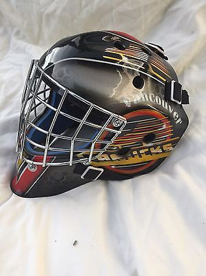 Kirk McLean Vaughn Theme Goalie Mask Canucks