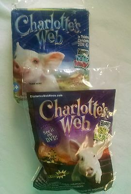 Wendy's Kids Meal Toys: Charlotte's Web- Gussy Plush and 3d Puzzle