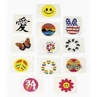 Fun Express Glow in the Dark Temporary Tattoos - 72 Pieces