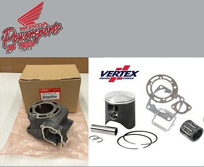 New 01 2001 Honda Cr125R Cr 125 Oem Cylinder W Vertex Piston & Gaskets Kit