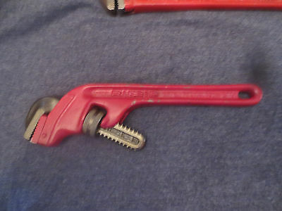 """RIDGID 10"""" Offset Pipe Wrench Used Great Condition"""