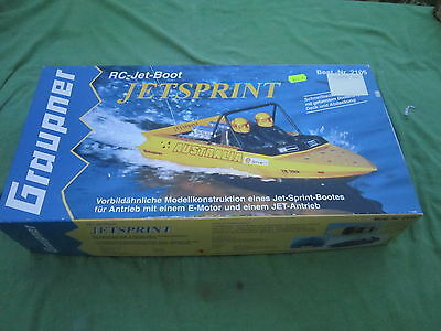 Graupner Jetsprint Still Boxed