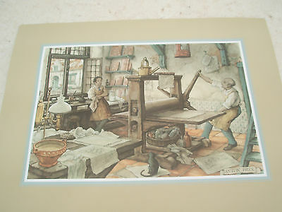 Art Prints / Paper Tole kit, 4AP Anton Pieck Print Shop PLUS FREE GIFT