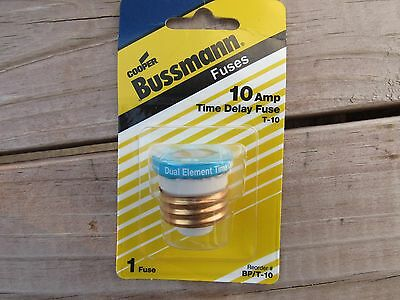 Cooper Bussmann 10 Amp Time Delay Fuse BP/T-10